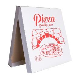 krabica na pizzu s univerzálnou potlačou 400x400x35 štvorcová